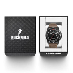 Ruckfield 685000 Brown Leather Strap - Goldy Jewelry