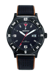 Ruckfield 685020 Black Leather Strap - Goldy Jewelry
