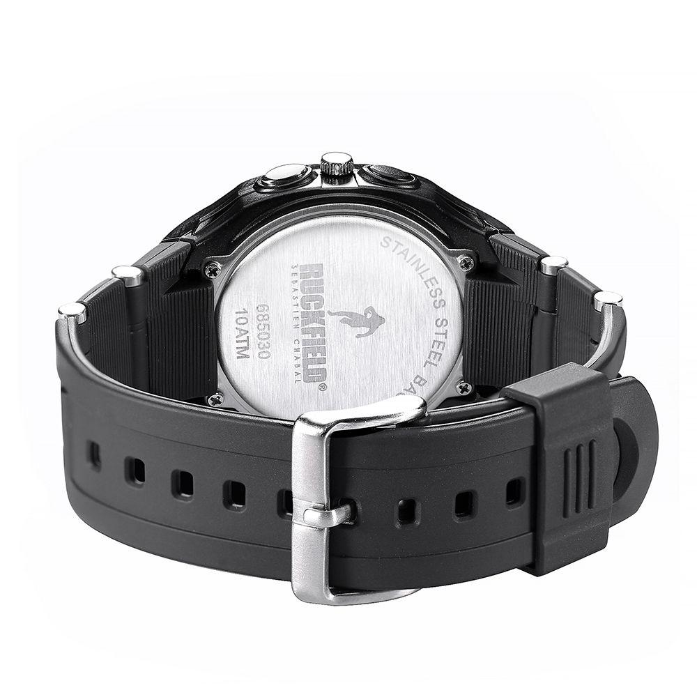 Ruckfield 685030 Black Rubber Strap - Goldy Jewelry