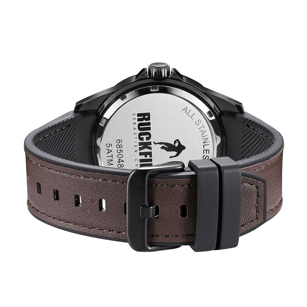 Ruckfield 685048 Brown Leather Strap - Goldy Jewelry