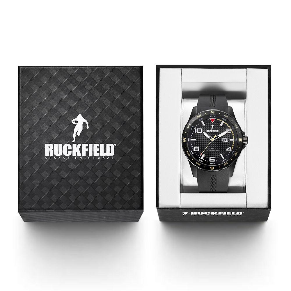 Ruckfield 685052 Black Rubber Strap - Goldy Jewelry