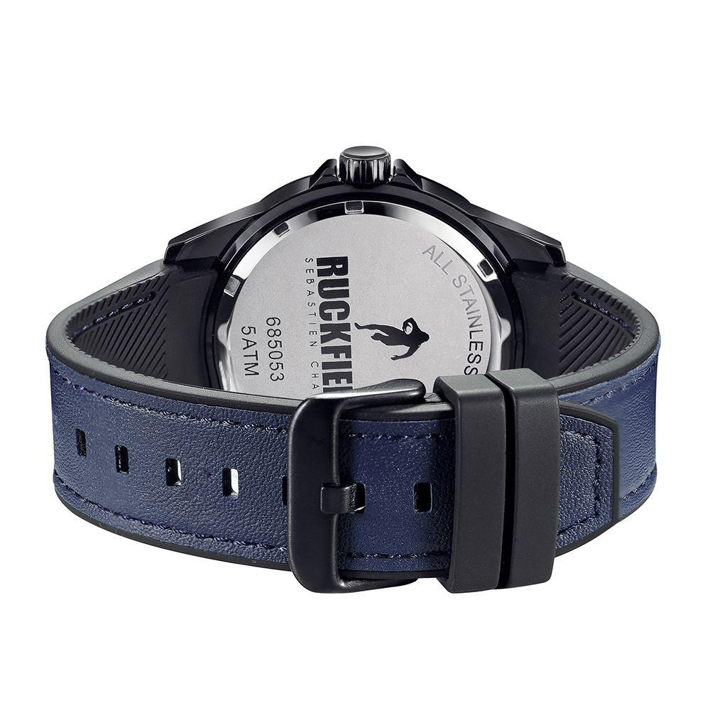 Ruckfield 685053 Blue Leather Strap - Goldy Jewelry