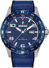 Ruckfield 685054 Blue Leather Strap - Goldy Jewelry