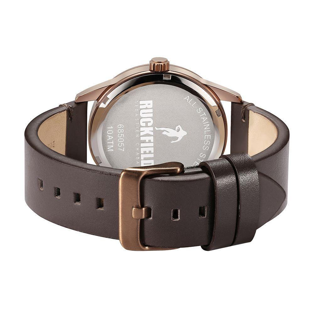Ruckfield 685057 Brown Leather Strap - Goldy Jewelry