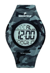 Ruckfield 685066 Gray Camouflage Rubber Strap - Goldy Jewelry