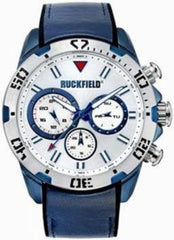 Ruckfield 685070 Blue Leather Strap - Goldy Jewelry