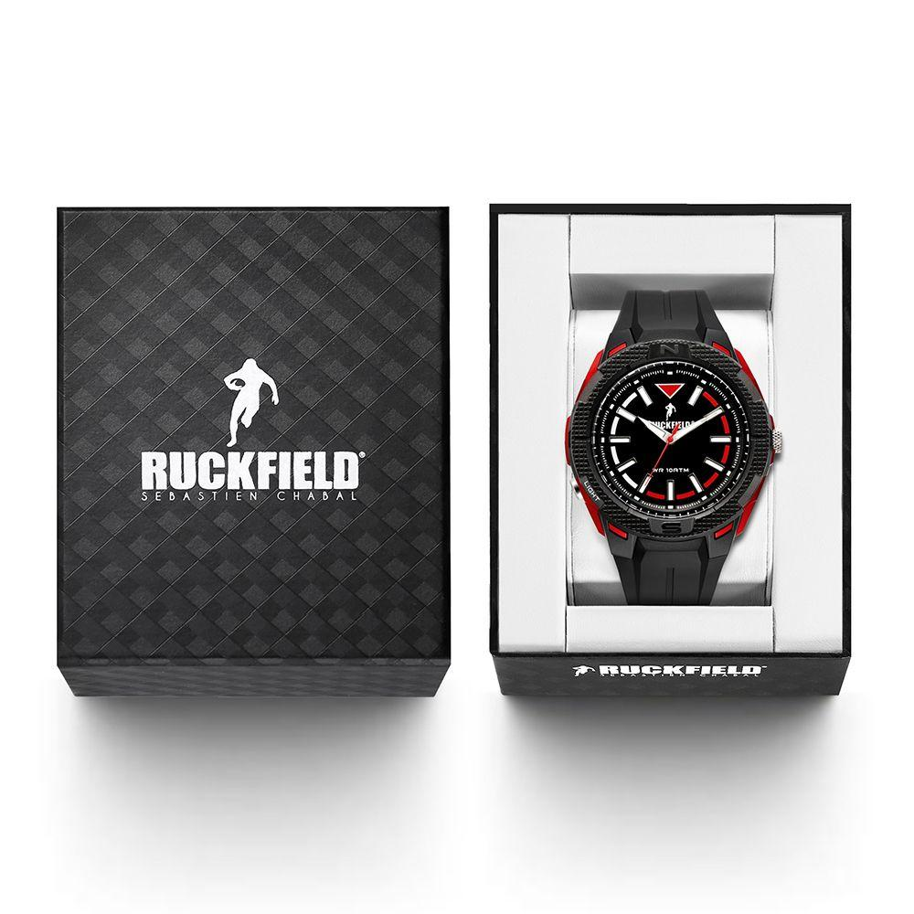 Ruckfield 685085 Black Rubber Strap - Goldy Jewelry