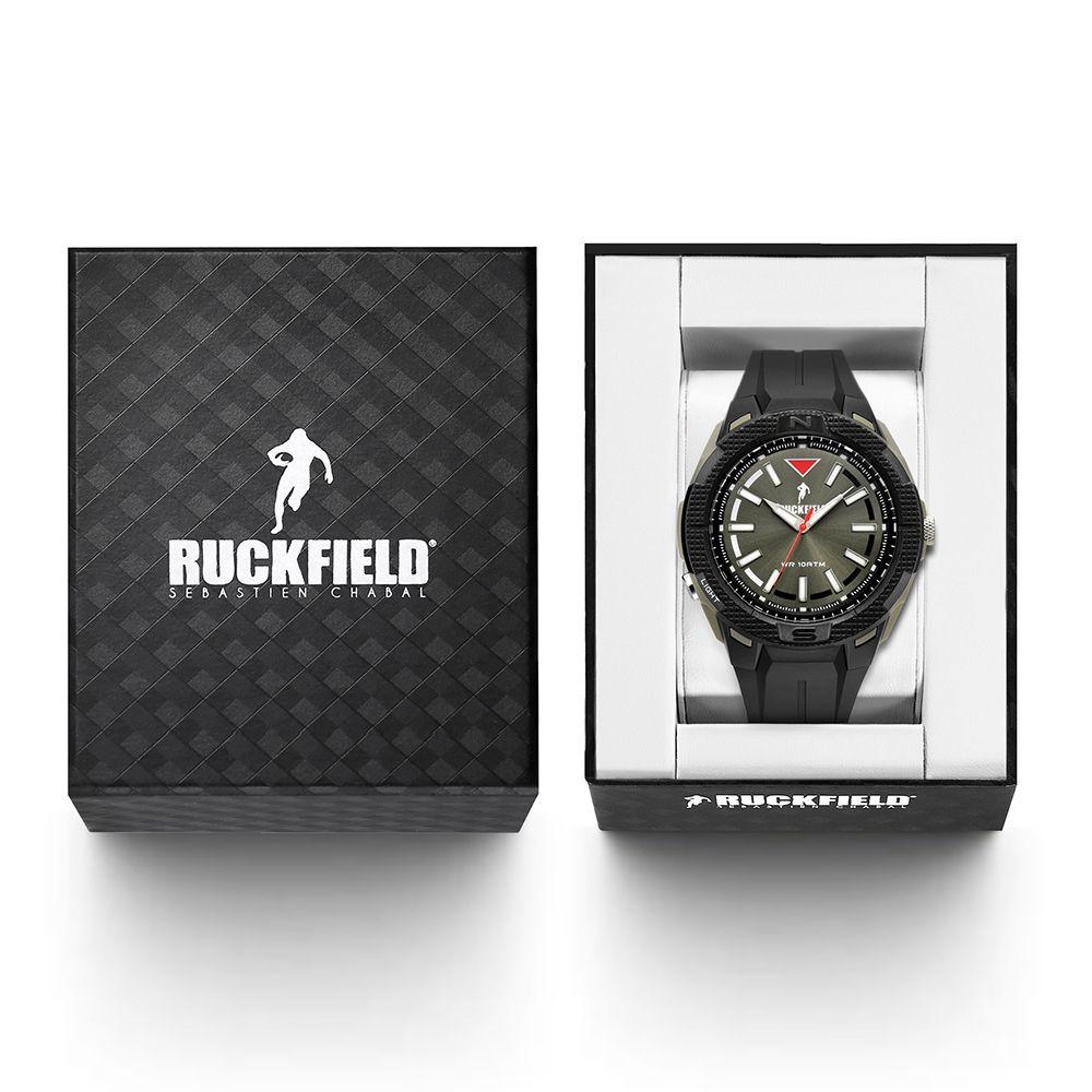 Ruckfield 685086 Black Rubber Strap - Goldy Jewelry