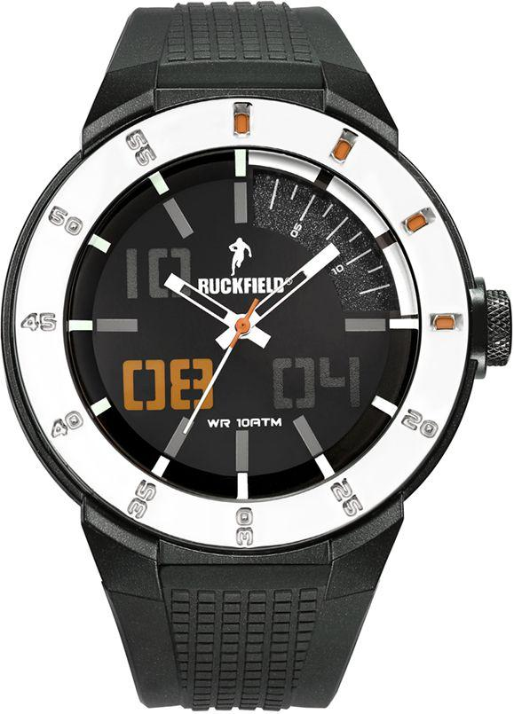 Ruckfield 685098 Black Rubber Strap - Goldy Jewelry