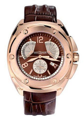 Saint Honore 8890708MBR Haussman Magnum Brown Leather Strap - Jewelry Goldy