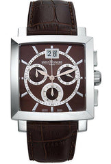 Saint Honore 8980271MIA Orsay Magnum Chronograph Brown Leather Strap - Jewelry Goldy