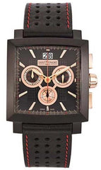 Saint Honore 89802778NAR Orsay Racing Black Leather Strap - Κοσμηματοπωλείο Goldy