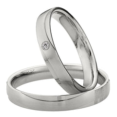 Saint Maurice Light Collection 87020-87021 Gold Wedding Rings - Goldy Jewelry Store