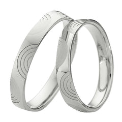 Saint Maurice Light Collection 87022-87023 Gold Wedding Rings - Goldy Jewelry Store