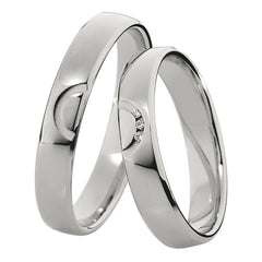 Saint Maurice Light Collection 87032-87033 Gold Wedding Rings - Goldy Jewelry Store
