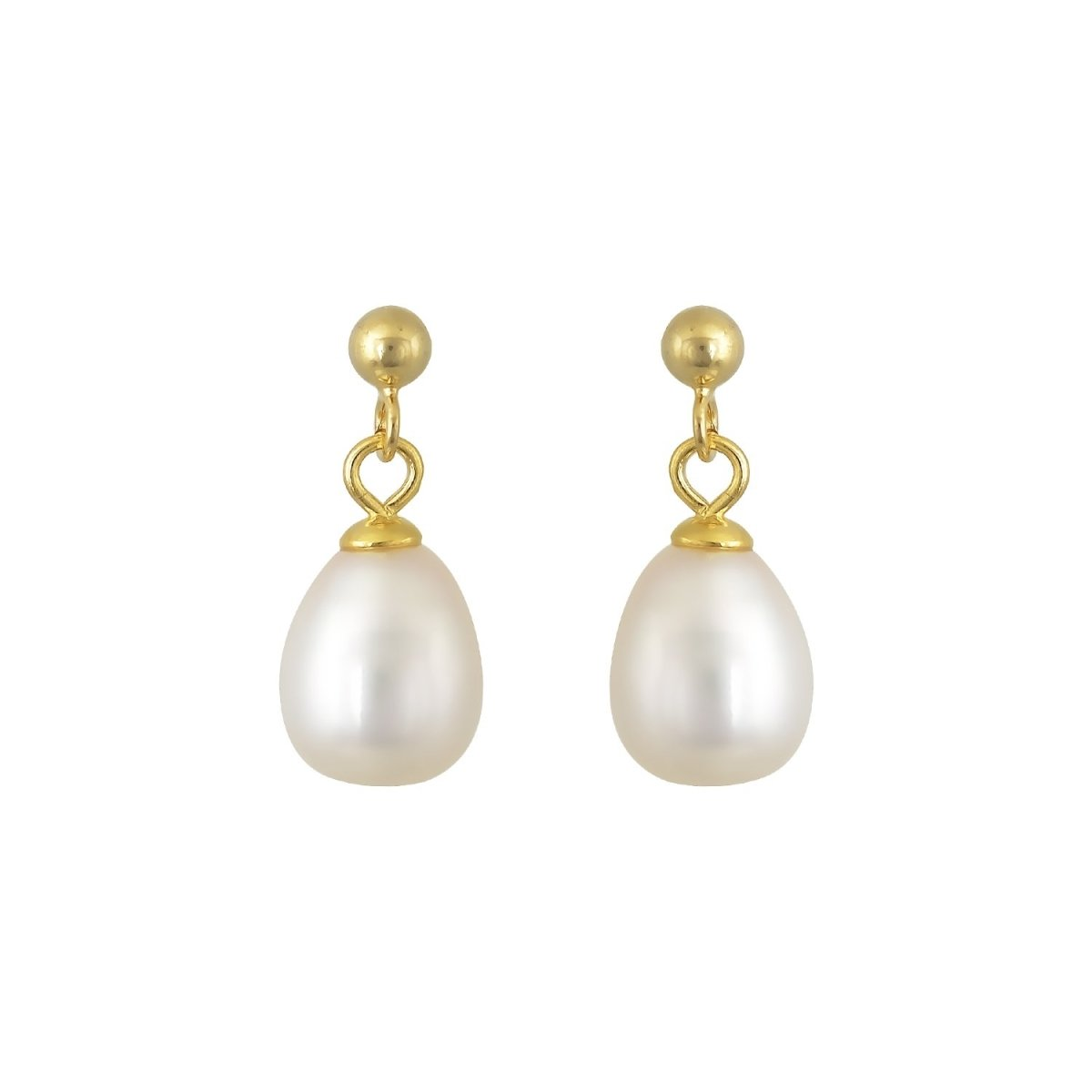 Earrings ER31361 Gold Plated Pendants - Goldy Jewelry Store