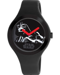 AM:PM SP161-U459 Star Wars Black Rubber Strap