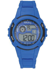 TEKDAY 654690 Blue Rubber Strap - Goldy Jewelry Store