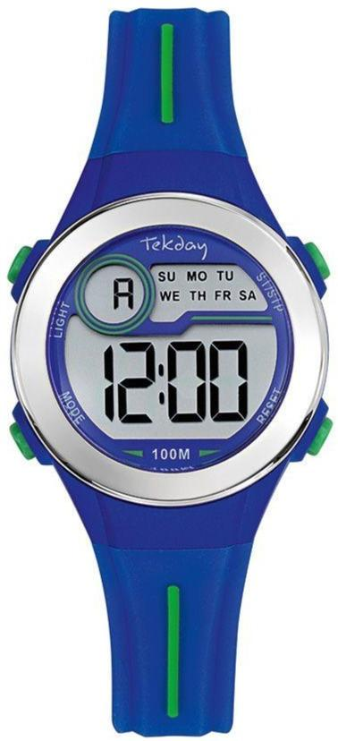 TEKDAY 654692 Blue Rubber Strap - Goldy Jewelry Store