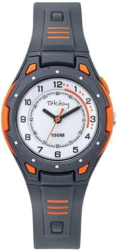 TEKDAY 654699 Blue Rubber Strap - Goldy Jewelry Store