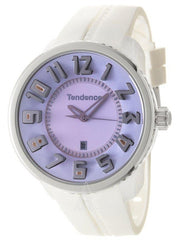 Tendence 02043021 Gulliver Round White Rubber Strap - Goldy Jewelry