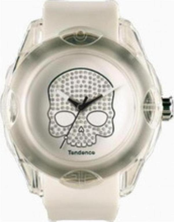 Tendence 05013002 Gulliver Hydrogen White Rubber Strap - Goldy Jewelry