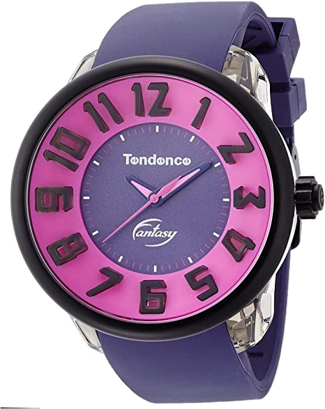Tendence T0630011 Fantasy Purple Rubber Strap - Κοσμηματοπωλείο Goldy