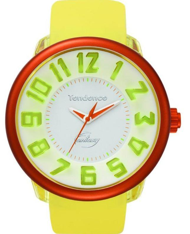 Tendence T0630012 Yellow Rubber Strap - Goldy Jewelry