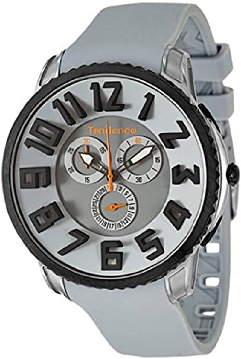 Tendence TE161001 Chronograph Gray Rubber Strap - Goldy Jewelry