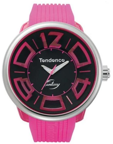 Tendence TG632002 Fluo Fantasy Fucshia Rubber Strap - Jewelry Goldy