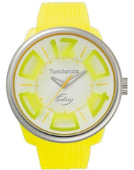 Tendence TG633003 Fluo Yellow Rubber Strap - Goldy Jewelry