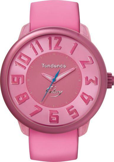 Tendence TO630007 Pink Rubber Strap - Goldy Jewelry
