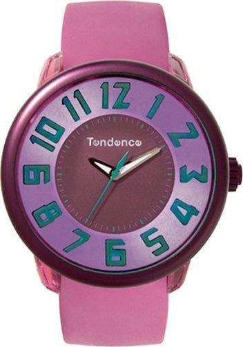Tendence TO630008 Fantasy Pink Rubber Strap - Goldy Jewelry