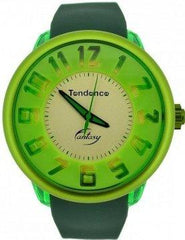 Tendence TO630010 Fantasy Green Rubber Strap - Goldy Jewelry