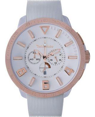 Tendence TT560002 Gulliver Chronograph White Rubber Strap - Jewelry Goldy