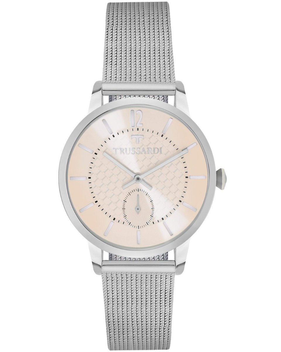 TRUSSARDI R2453113502 My Time Silver Stainless Steel Bracelet - Κοσμηματοπωλείο Goldy