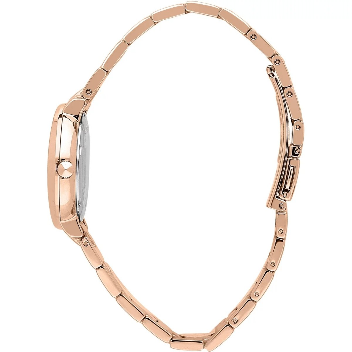 TRUSSARDI R2453115509 T-Vision Rose Gold Stainless Steel Bracelet - Goldy Jewelry