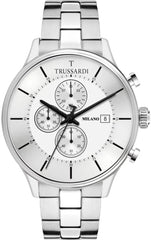 TRUSSARDI R2473630004 T-complicity Silver Stainless Steel Bracelet Multifunctional - Κοσμηματοπωλείο Goldy