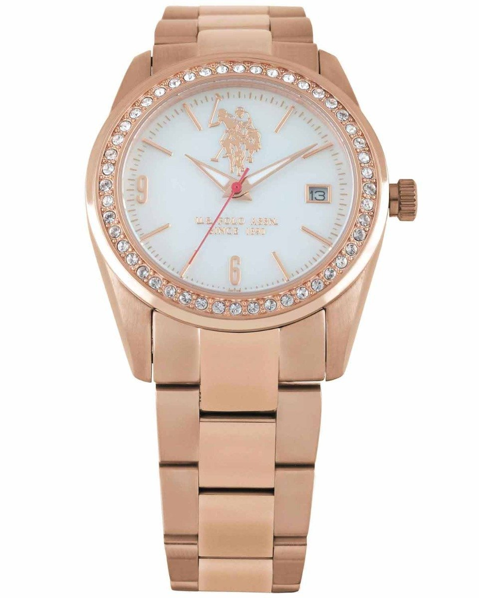 US Polo USP5112RG Rose Gold Stainless Steel Watch - Goldy Jewelry