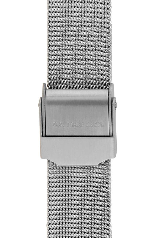 US POLO USP5867ST Angelique Crystals Stainless Steel Bracelet - Goldy Jewelry