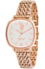 US POLO USP5907RG Candice Rose Gold Stainless Steel Bracelet - Goldy Jewelry