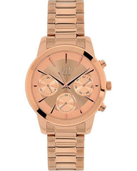 VISETTI PE-498RR Legacy Rose Gold Stainless Steel Watch - Κοσμηματοπωλείο Goldy