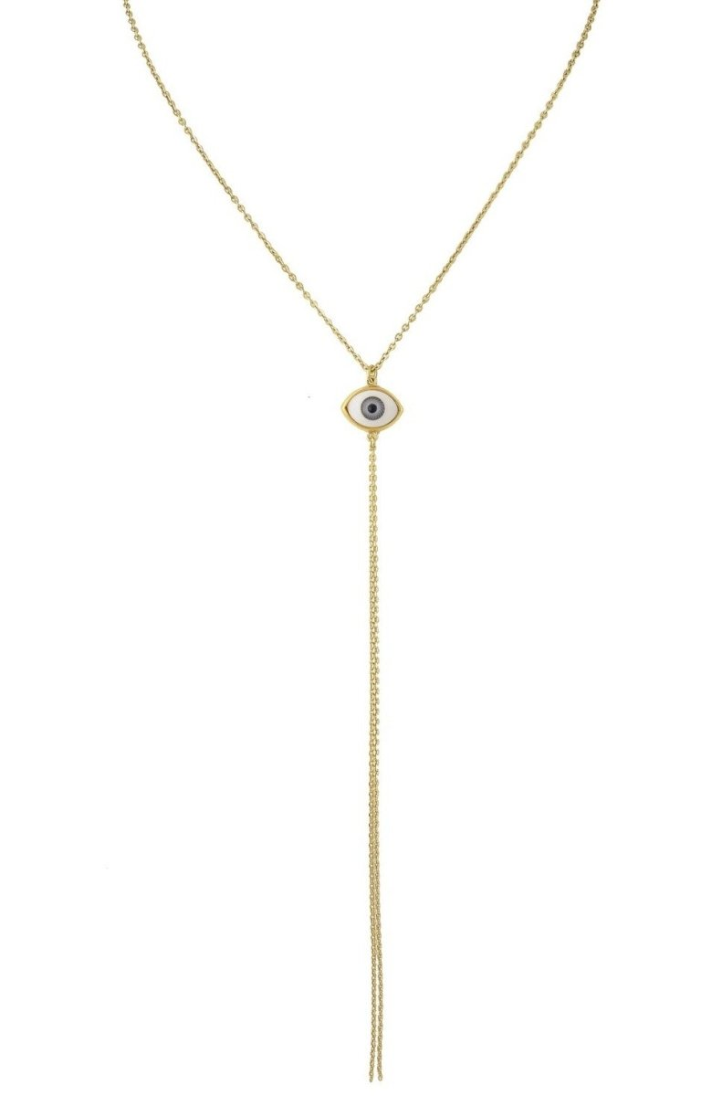 Visetti TH-WKD057WG Gold Plated Steel Necklace with Eye - Goldy Jewelry Store