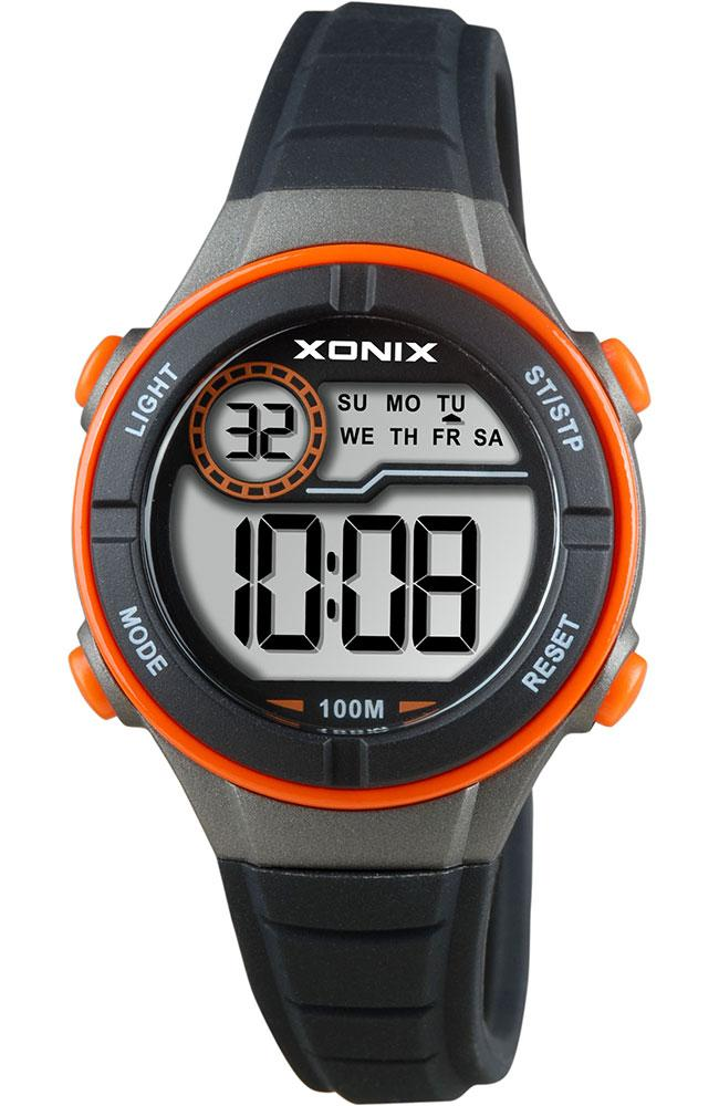 Xonix BAI-005 Kids Black Rubber Strap - Κοσμηματοπωλείο Goldy
