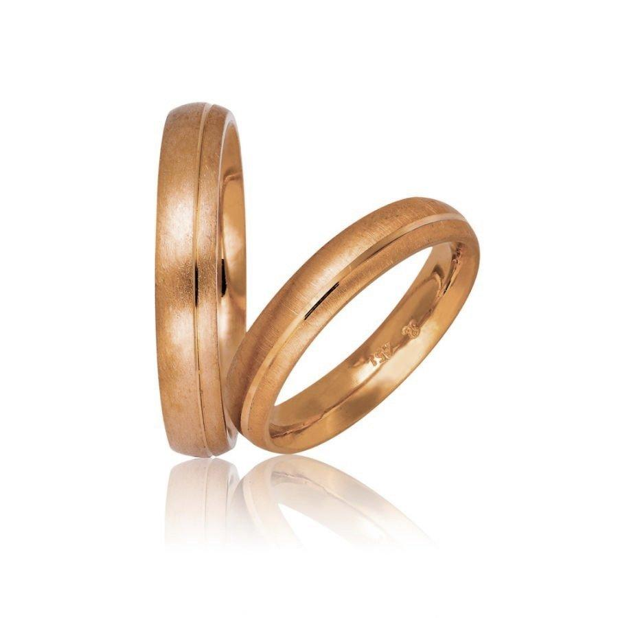 Golden Wedding Rings 703 Stergiadis - Goldy Jewelry Store