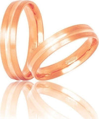 Golden Wedding Ring S15 Stergiadis - Goldy Jewelry Store
