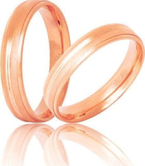 Golden Wedding Ring S23 Stergiadis - Goldy Jewelry Store