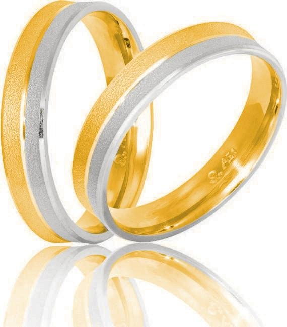 Golden Wedding Ring S3 Stergiadis - Goldy Jewelry Store