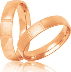 Golden Wedding Ring S31 Stergiadis - Goldy Jewelry Store