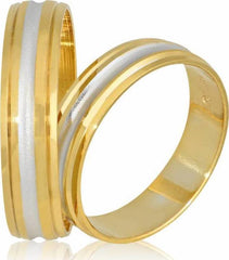 Golden Wedding Ring S57 Stergiadis - Goldy Jewelry Store